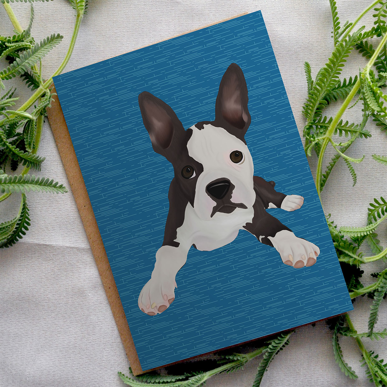 Boston Terrier Cards